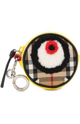 Текстильный кошелек с декором | Фото №1