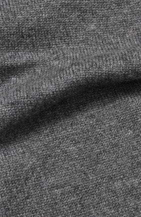 Кашемировый шарф тонкой вязки Johnstons Of Elgin светло-коричневый | Фото №1