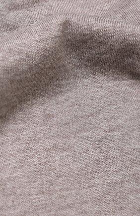Шарф из смеси кашемира и шелка Johnstons Of Elgin светло-серый | Фото №1