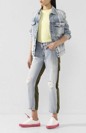 Женские джинсы DENIM X ALEXANDER WANG разноцветного цвета, арт. 4D994220CK | Фото 2