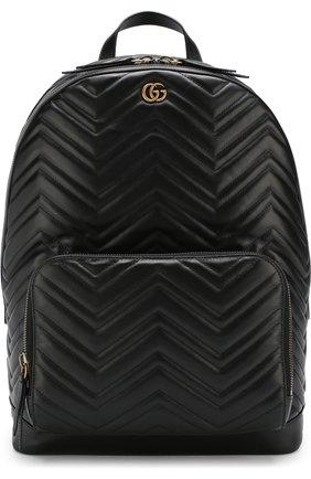 Кожаный рюкзак GG Marmont  | Фото №1