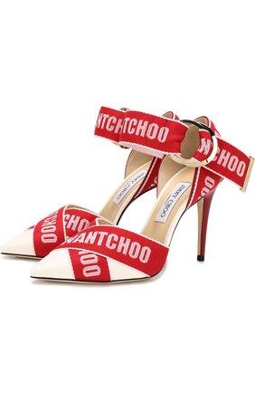 Кожаные туфли Bea 100 на шпильке | Фото №1