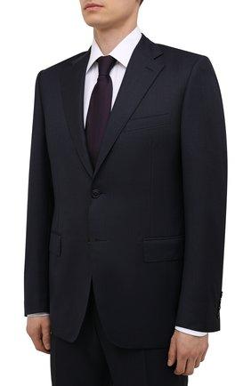 Мужской шерстяной костюм CANALI темно-синего цвета, арт. 11220/10/BF00267 | Фото 2