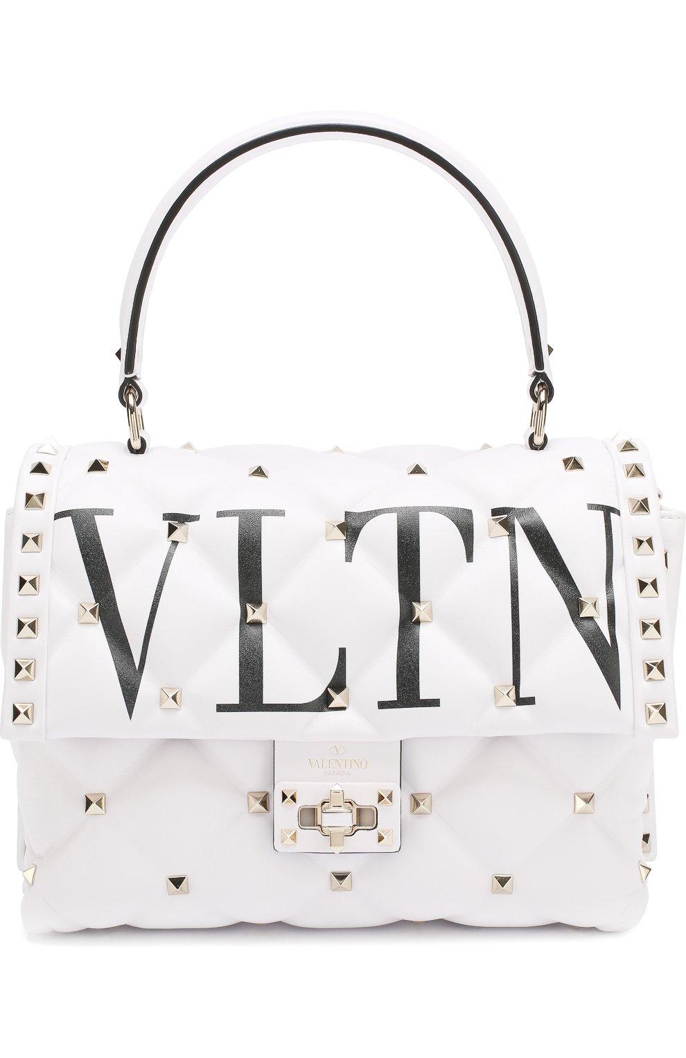 fa74abc40f1f Женская сумка valentino garavani candystud VALENTINO белая цвета ...
