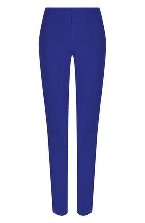 Однотонные брюки прямого кроя   Фото №1