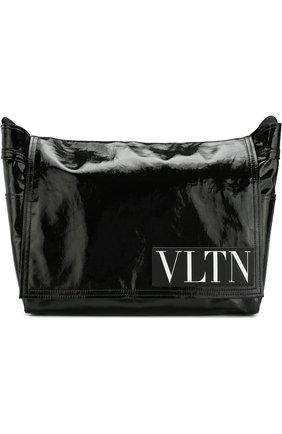 Текстильный мессенджер Valentino Garavani VLTN | Фото №1