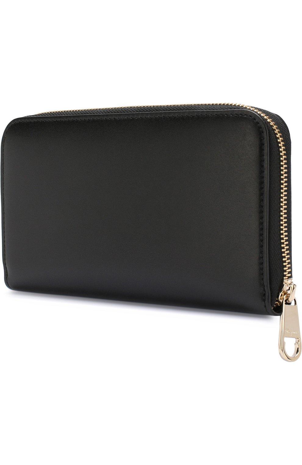 Кожаный кошелек на молнии   Фото №2