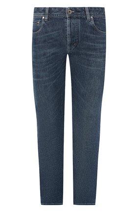 Мужские джинсы прямого кроя LORO PIANA синего цвета, арт. FAI1289 | Фото 1