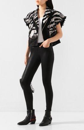 Женские джинсы PAIGE черного цвета, арт. 1767901-3364 | Фото 2