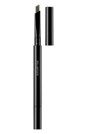 Женский механический карандаш для бровей brow:sword, оттенок ash green SHU UEMURA бесцветного цвета, арт. 4935421665889 | Фото 1