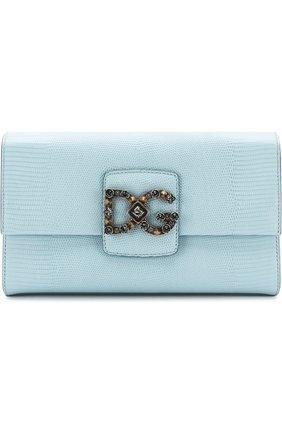 Сумка DG Millennials Dolce & Gabbana голубая цвета   Фото №1