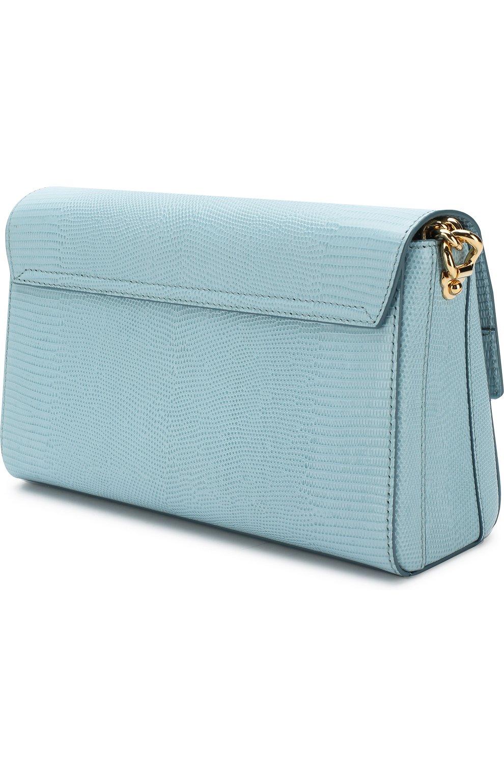 Сумка DG Millennials Dolce & Gabbana голубая цвета   Фото №3