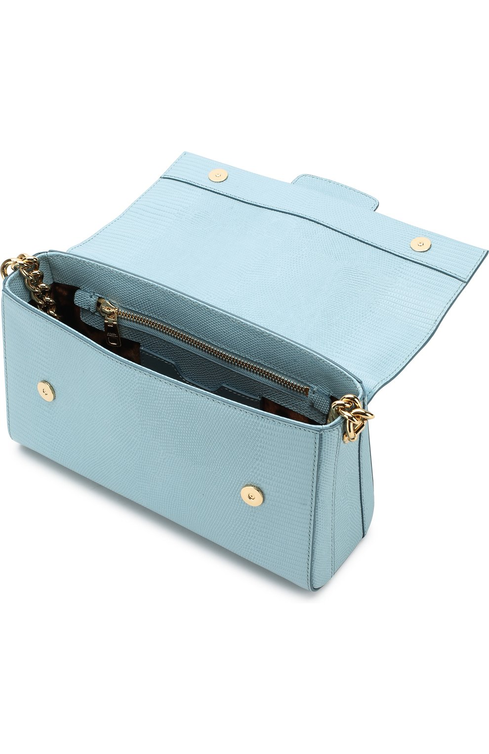 Сумка DG Millennials Dolce & Gabbana голубая цвета   Фото №4