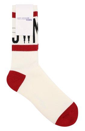 Хлопковые носки Junya Watanabe разноцветные | Фото №1