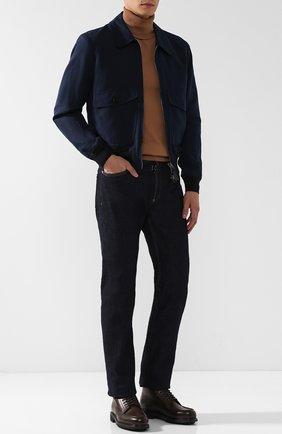 Мужские кожаные ботинки TOM FORD коричневого цвета, арт. J1072R-VCL | Фото 2