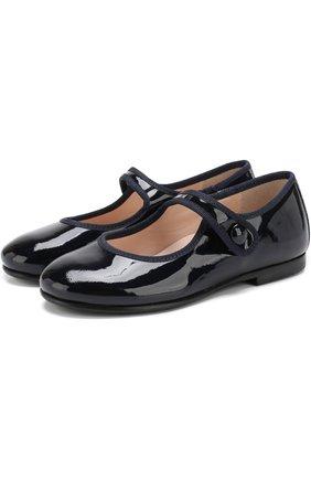 Лаковые туфли с перемычкой | Фото №1