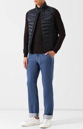 Джемпер из смеси шелка и шерсти с кашемиром | Фото №2