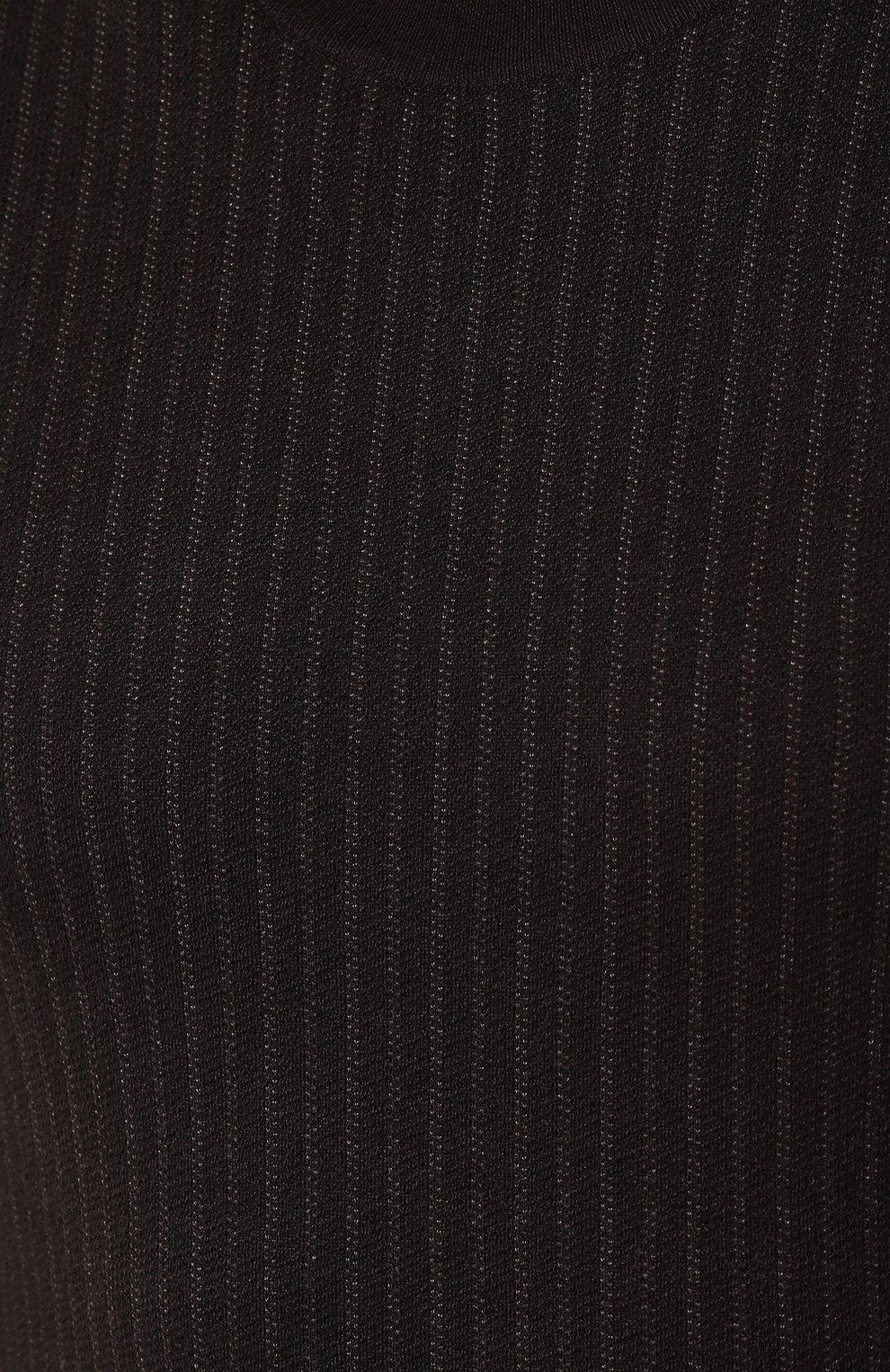 Джемпер из смеси шелка и шерсти с кашемиром | Фото №5