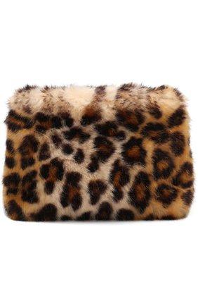 Текстильная сумка с леопардовым принтом | Фото №1