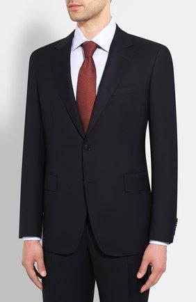 Мужской шерстяной костюм CANALI темно-синего цвета, арт. 11280/10/AA00099 | Фото 2