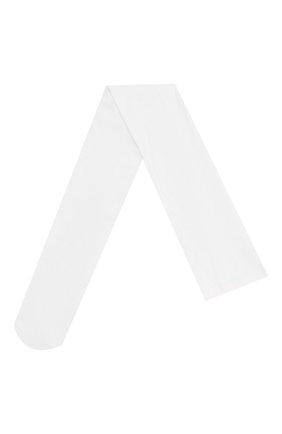 Детские колготки school collection YULA белого цвета, арт. YU-06 | Фото 1