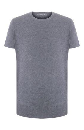 Мужские футболка DEREK ROSE серого цвета, арт. 3048-MARL001 | Фото 1