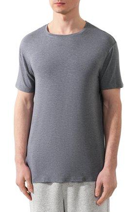 Мужская футболка DEREK ROSE серого цвета, арт. 3048-MARL001 | Фото 3