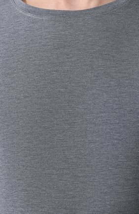Мужская футболка DEREK ROSE серого цвета, арт. 3048-MARL001 | Фото 5