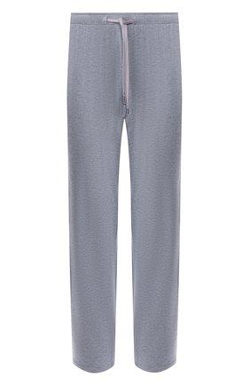 Мужские домашние брюки DEREK ROSE серого цвета, арт. 3558-MARL001 | Фото 1