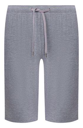 Мужские домашние шорты DEREK ROSE серого цвета, арт. 3559-MARL001 | Фото 1