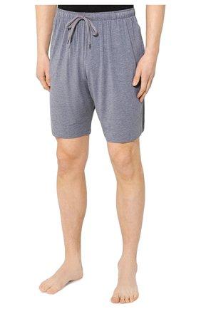 Мужские домашние шорты DEREK ROSE серого цвета, арт. 3559-MARL001 | Фото 3 (Кросс-КТ: домашняя одежда; Материал внешний: Синтетический материал; Статус проверки: Проверена категория)