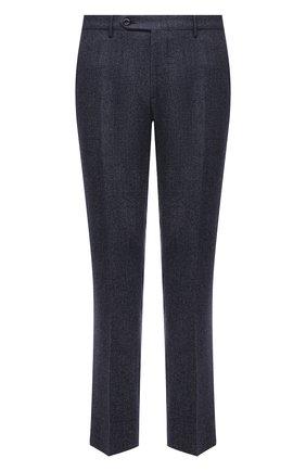 Мужской шерстяные брюки прямого кроя BERWICH темно-синего цвета, арт. SC/1 ALC/RD1436 | Фото 1
