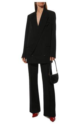 Женская кожаные туфли gianvito 105 GIANVITO ROSSI красного цвета, арт. G28470.15RIC.VERTABS | Фото 2