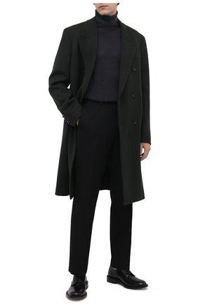 Мужской шерстяная водолазка DANIELE FIESOLI темно-серого цвета, арт. DF 0005 | Фото 2