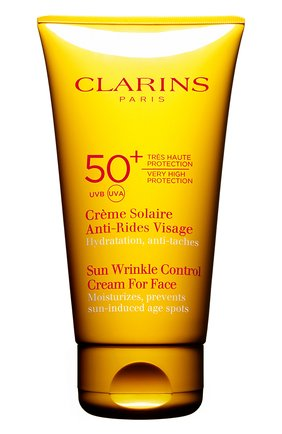 Солнцезащитный крем для лица SPF 50 Crème Solaire Anti-Rides Visage   Фото №1