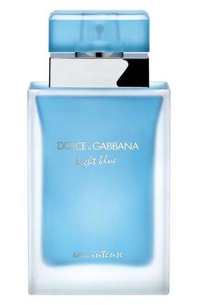 Женский парфюмерная вода light blue intense DOLCE & GABBANA бесцветного цвета, арт. 3032805DG | Фото 1