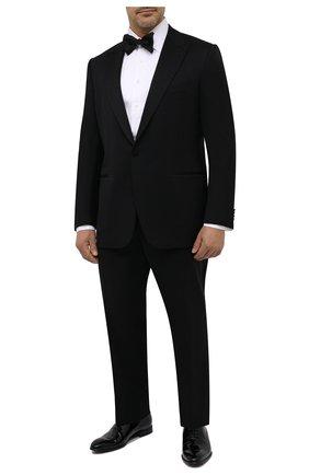 Мужская хлопковая сорочка под смокинг TOM FORD белого цвета, арт. 4FT287/94SIJE | Фото 2