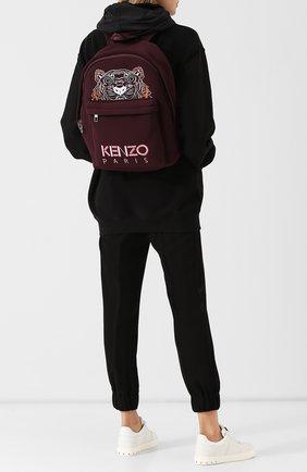 Рюкзак Tiger large Kenzo бордовый | Фото №1