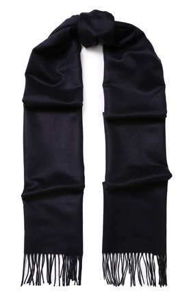 Шелковый шарф с бахромой   Фото №1