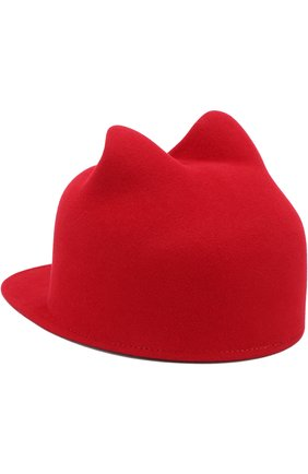 Фетровая кепка Jamie Maison Michel красного цвета | Фото №1