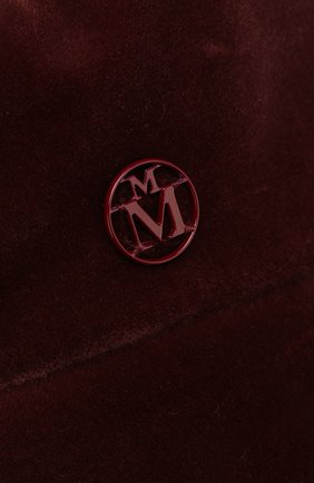 Хлопковый берет Florence Maison Michel розового цвета   Фото №3