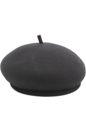 Фетровый берет New Bonnie Maison Michel темно-серого цвета | Фото №1