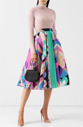 Юбка-миди с ярким принтом Emilio Pucci разноцветная | Фото №1