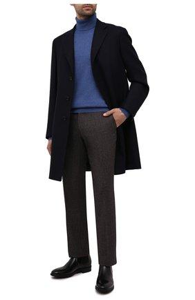 Мужские шерстяные брюки BERWICH темно-бордового цвета, арт. SC/1 ALC/RD1436 | Фото 2