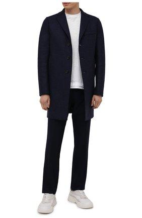 Мужские шерстяные брюки BERWICH темно-синего цвета, арт. SC/1 ALC/VB5991 | Фото 2