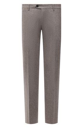 Мужской шерстяные брюки BERWICH бежевого цвета, арт. ZIP/1 ALC/VB1504 | Фото 1