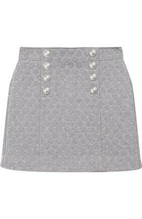 Хлопковая стеганая юбка | Фото №1