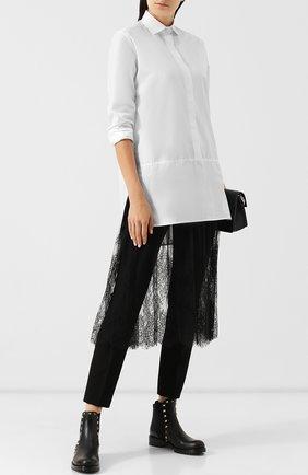 Женские кожаные челси valentino garavani rockstud VALENTINO черного цвета, арт. QW2S0D47/V0T | Фото 2