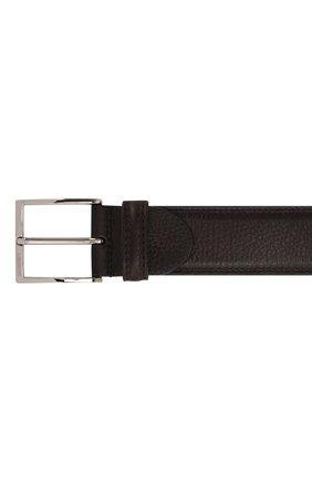 Мужской кожаный ремень с металлической пряжкой BARRETT бордового цвета, арт. 81B537.6/CERV0 ASP0RTABILE | Фото 3