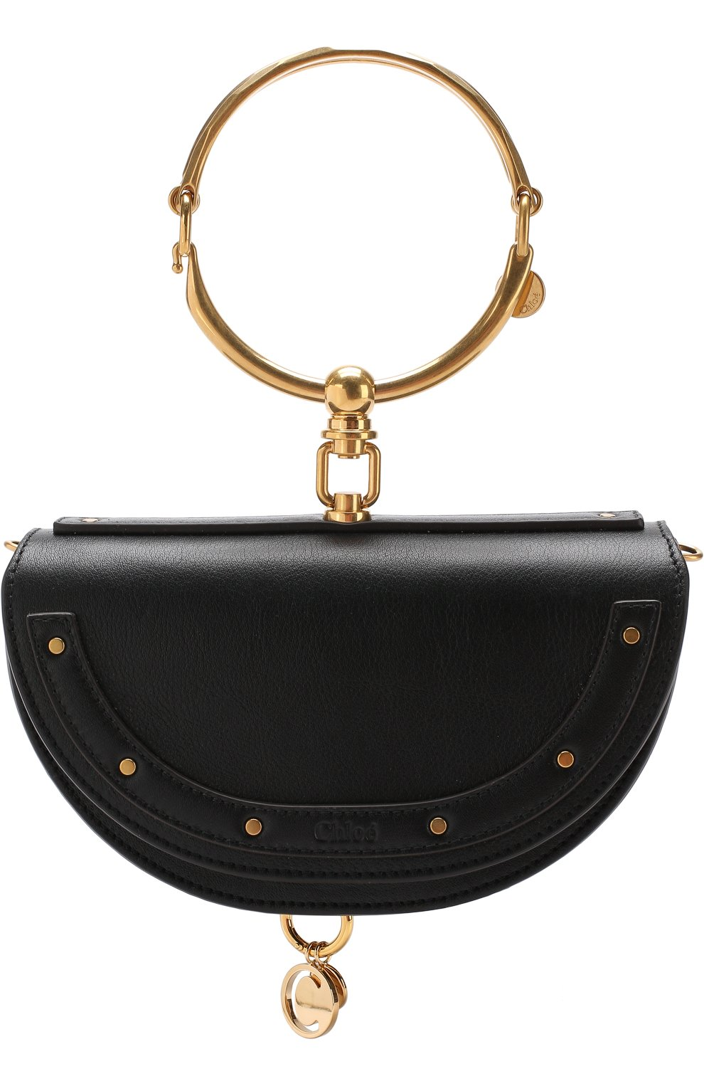 Женская сумка nile minaudière CHLOÉ черного цвета, арт. CHC17US302H5H | Фото 1